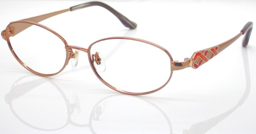 日本製 Nikon レンズ使用 チタンブロンズ ニコン 遠近両用メガネ[全額返金保証]乱視 矯正 対応 乱視 遠近両用 メガネ 老眼鏡 おしゃれ 女性用 レディース 中近両用 眼鏡 シニアグラス リーディンググラス