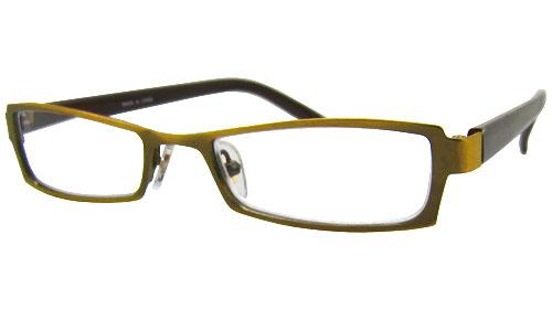贈答 メタルとプラスチックのミックスデザインフレーム スクエアデザイン シニアグラス 全額返金保証 老眼鏡 おしゃれ 男性用 在庫あり