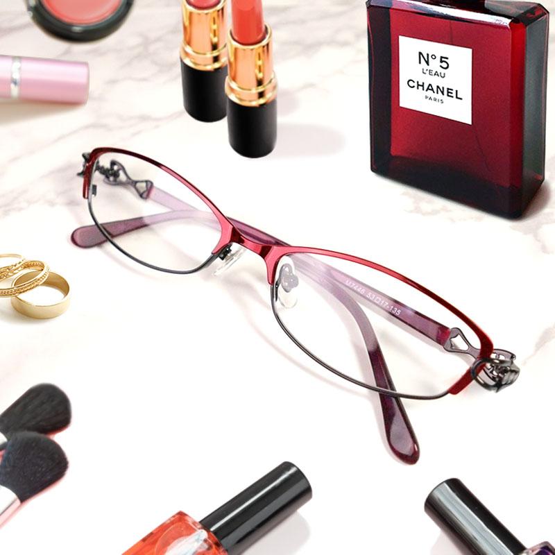 日本製 Nikon レンズ使用 アンティークデザイン(M7446) ニコン 遠近両用メガネ[全額返金保証]乱視 矯正 対応 乱視 遠近両用 メガネ 老眼鏡 おしゃれ 女性用 レディース 中近両用 眼鏡 シニアグラス リーディンググラス