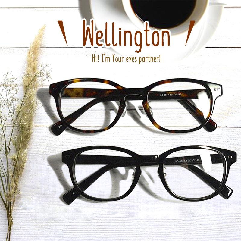 日本製 Nikon レンズ使用 ウェリントン ニコン 遠近両用メガネ[全額返金保証]乱視 矯正 対応 乱視 遠近両用 メガネ 老眼鏡 おしゃれ 男性用 メンズ 中近両用 眼鏡 シニアグラス リーディンググラス