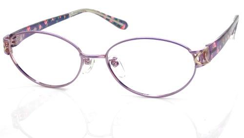 日本製 Nikon レンズ使用 TRワインフラワー ニコン 遠近両用メガネ[全額返金保証]乱視 矯正 対応 乱視 遠近両用 メガネ 老眼鏡 おしゃれ 女性用 レディース 中近両用 眼鏡 シニアグラス リーディンググラス