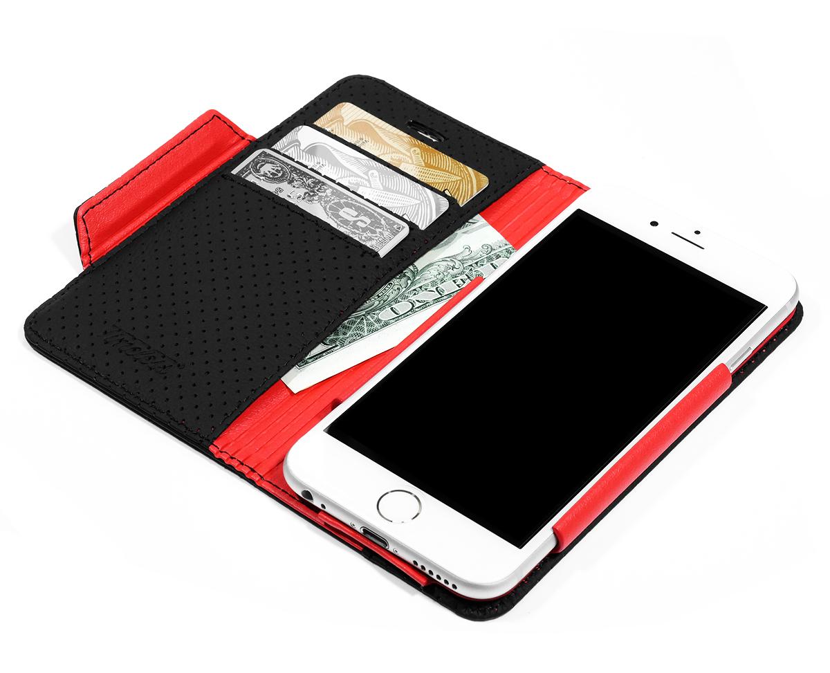 b80cf83aaf iPhone6Sケース手帳型本革レザーアイフォン6S人気おしゃれカバースタンド高級パンチングレザー