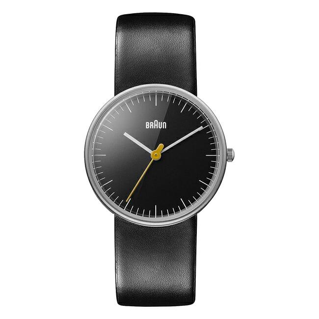 【並行輸入品】BRAUN LEATHER ANALOG WATCH LADYSブラウン レザー アナログ ウォッチ レディース BN0021BKBKL 腕時計 ブラック 黒 レザー 革ベルト BNH0021