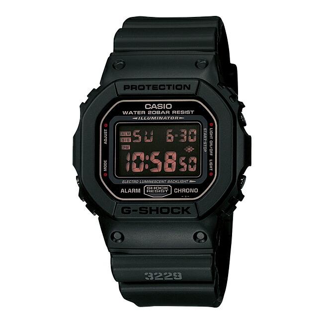 【並行輸入品】CASIO G-SHOCK MAT BLACK RED EYE カシオ Gショック マットブラック レッドアイ DW-5600MS-1 腕時計 メンズ ジーショック デジタル 防水 ブラック 黒
