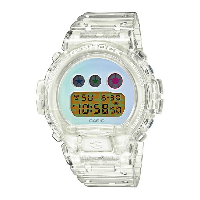 【国内正規品】CASIO G-SHOCK カシオ Gショック DW-6900SP-7JR 腕時計 メンズ キッズ 子供 男の子 デジタル 防水 ホワイト 白 ブルー 水色 スケルトン 送料無料