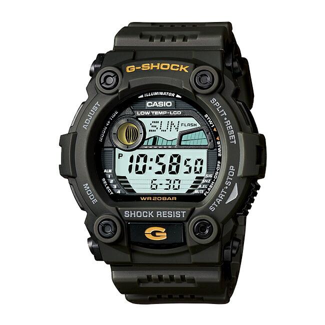 【並行輸入品】CASIO G-SHOCK カシオ Gショック G-7900-3 腕時計 メンズ ジーショック デジタル 防水 カーキ ブラック 黒