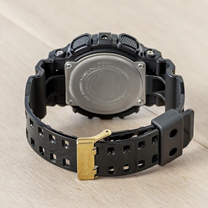【国内正規品】CASIO G-SHOCK BLACK×GOLD SERIES カシオ Gショック ブラック×ゴールド シリーズ GA-110GB-1AJF 腕時計 メンズ キッズ 子供 男の子 ジーショック アナデジ 防水 ブラック 黒 ゴールド 金