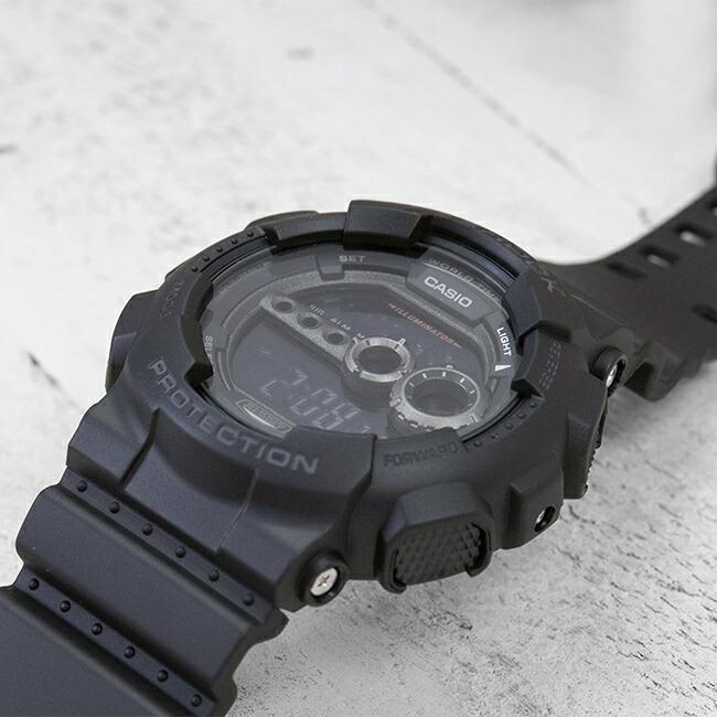 【並行輸入品】CASIO G-SHOCK カシオ Gショック GD-100-1B 腕時計 メンズ ジーショック デジタル 防水 ブラック 黒