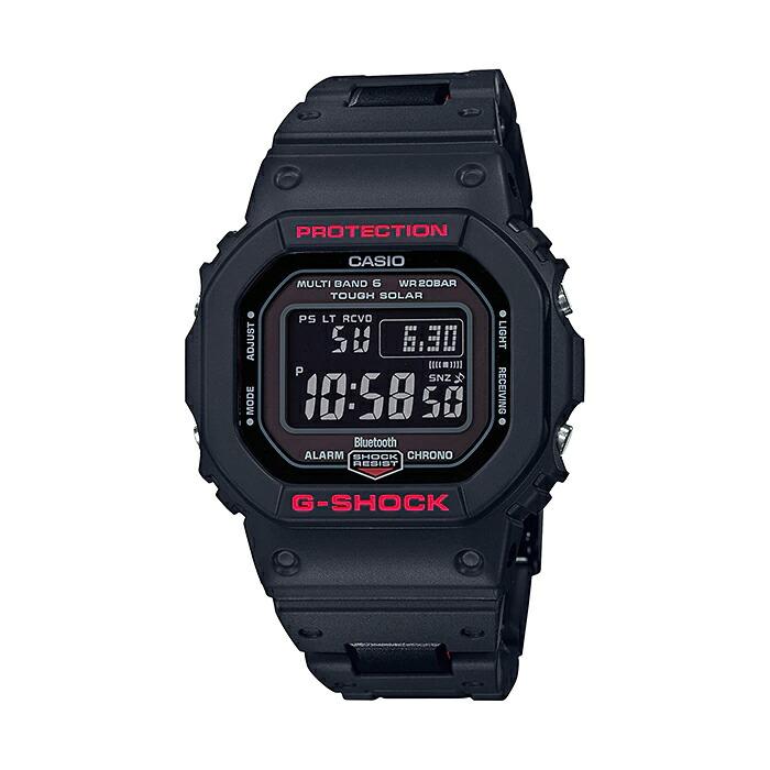 【国内正規品】CASIO G-SHOCK カシオ Gショック GW-B5600HR-1JF 腕時計 メンズ キッズ 子供 男の子 ジーショック デジタル 電波 ソーラー ソーラー電波時計 ブルートゥース 防水 ブラック 黒