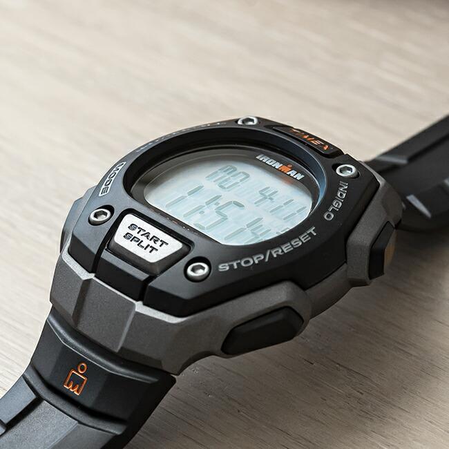 【並行輸入品】TIMEX IRONMAN CLASSIC 30-LAP FULLSIZE タイメックス アイアンマン クラシック 30ラップ メンズ T5K821 腕時計 ランニングウォッチ デジタル グレー ブラック 黒