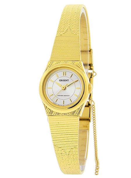 ORIENT QUARTZ LADYS东方石英女士FUB3R001W手表钟表黄金银子日本未开始销售
