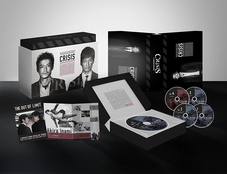 【洲本店】Blu-ray/CRISIS 公安機動捜査隊特捜班 Blu-ray BOX/DAXA-5203