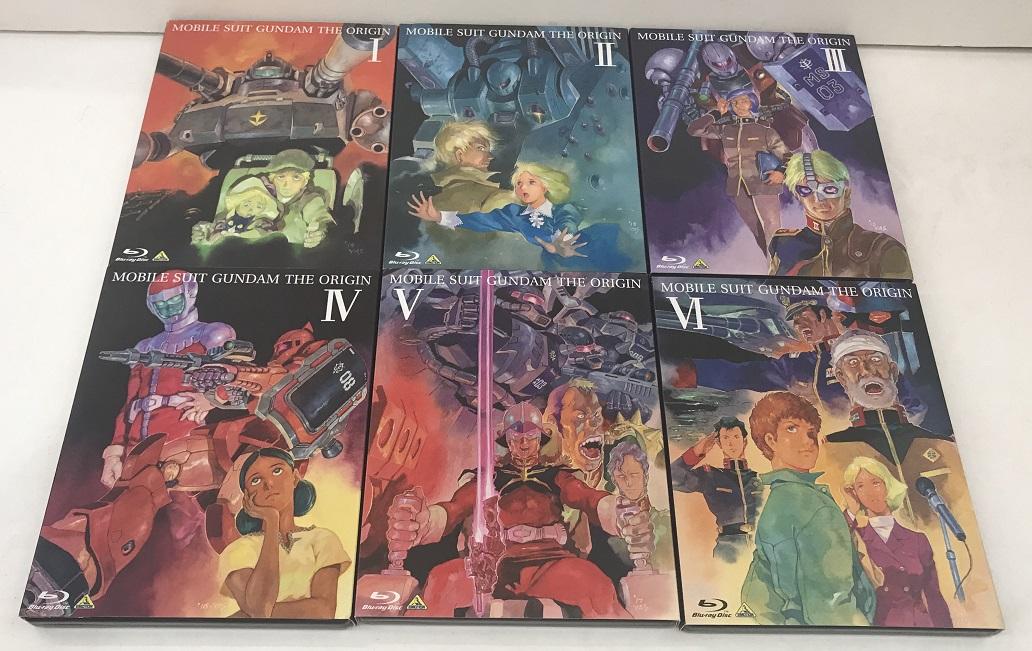 Blu-ray / 機動戦士ガンダム THE ORIGIN オリジン 全巻 全6巻セット BD 【和泉中央店】 【中古アニメブルーレイ】