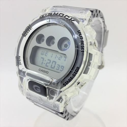 ■CASIO G-SHOCK/カシオ ジーショック■SPECIAL COLOR/DW-6900SK-1JF/スケルトン/ツートン