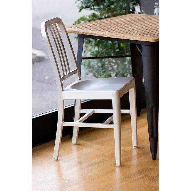 【新商品】NAVY CHAIR ネイビーチェア ポップでオシャレな椅子 シルバー デザイナーズ家具 ジェネリック家具 リプロダクト チェア