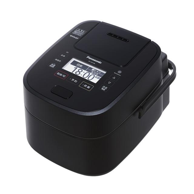 Panasonic スチーム&可変圧力IHジャー炊飯器 SR-VSX188-K