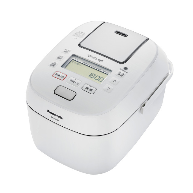 Panasonic 可変圧力IHジャー炊飯器 SR-PW189-W