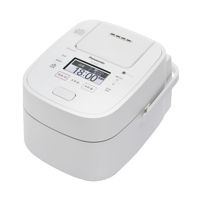 Panasonic スチーム&可変圧力IHジャー炊飯器 SR-VSX109-W