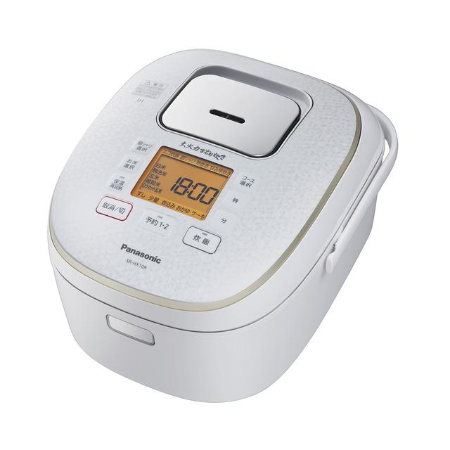 Panasonic IHジャー炊飯器 SR-HX189-W