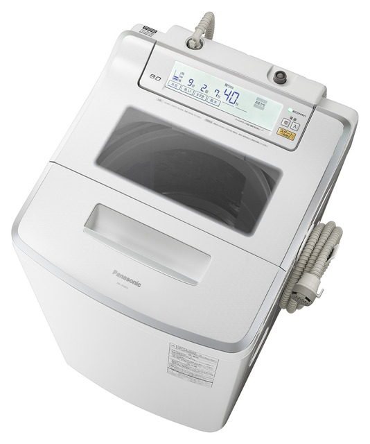 Panasonic 全自動洗濯機 NA-JFA803-W