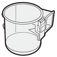 SHARP 掃除機用 ダストカップ 引き出物 奉呈 2171370491