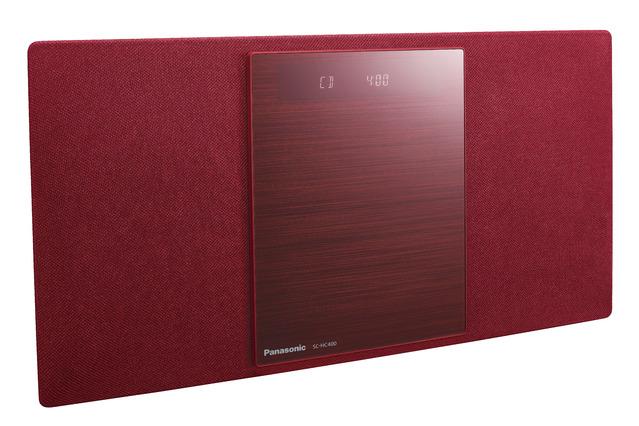 Panasonic コンパクトステレオシステム SC-HC400-R