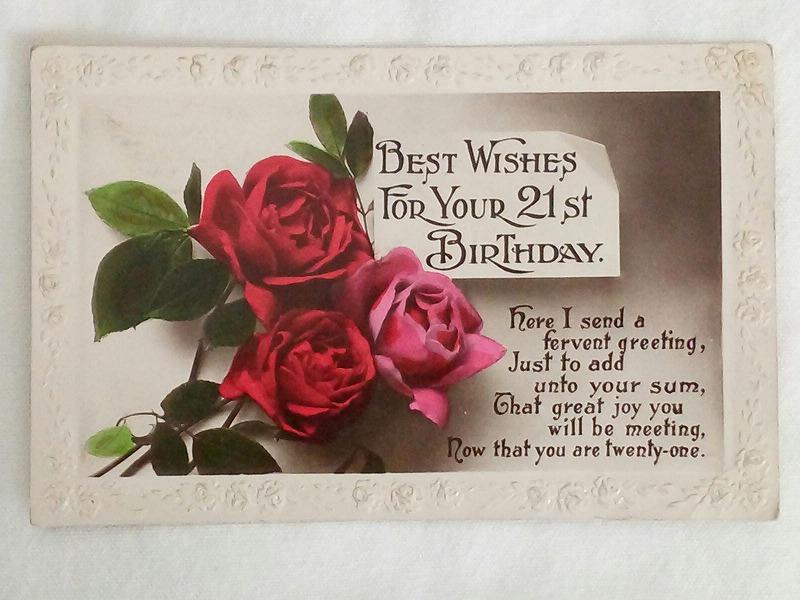 美しいアンティークポストカード アンティーク ※ラッピング ※ 商店 ポストカードイギリス 1900年代初期
