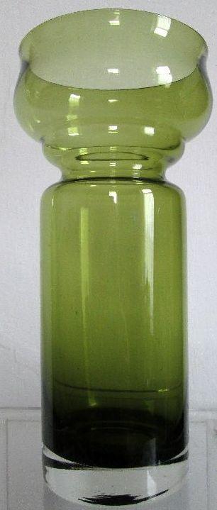 アンティーク  ヒヤシンス 花瓶 スカンジナビア (オリーヴグリーン)