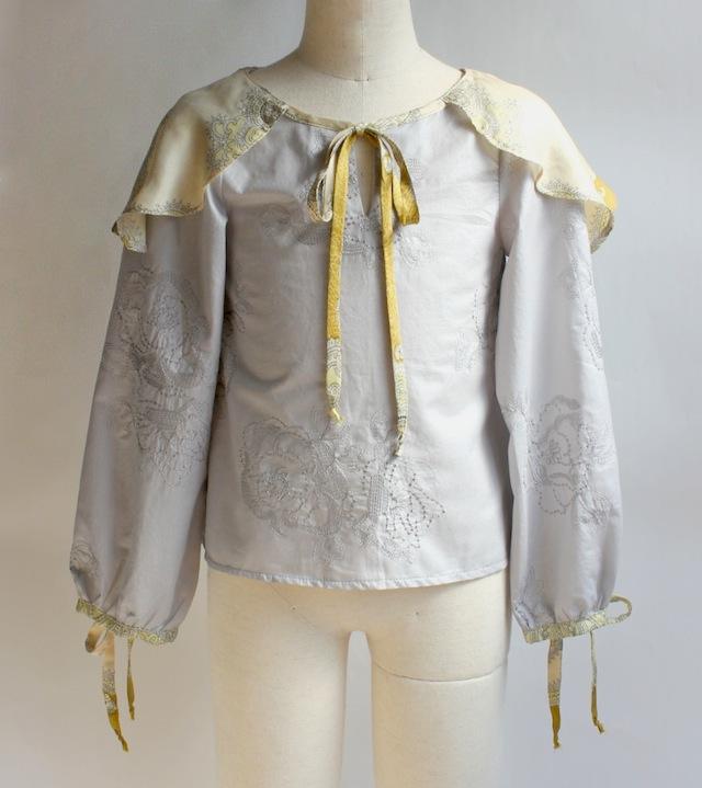 NIXIE CLOTHING ニクシークロージングセーラー ブラウス《8才 レモン》