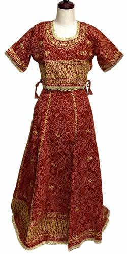 【送料無料】 インドのドレス チャニヤ・チョウリ【ワケアリ】 / サリー レディース 女性物 エスニック衣料 アジアンファッション エスニックファッション