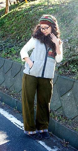 尼泊尔格里运动裤