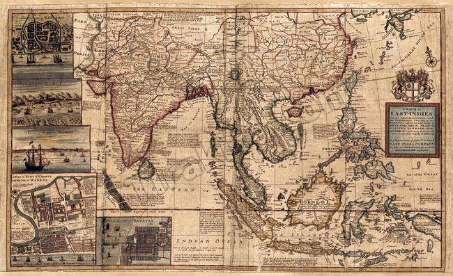 Tirakita Antique Map Poster A Map Of East Indies Prints Maps