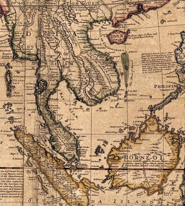 Tirakita Antique Map Poster A Map Of East Indies Prints Maps