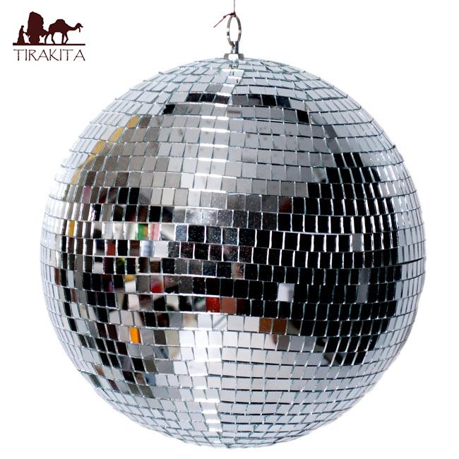 ミラーボール パーティーのデコレーションなどで 日本未発売 場を楽しく盛り上げてくれるミラーボールです ミラーボールは空間演出へオススメ 30cm デコレーション エスニック mirror インド 雑貨 ball アジア 業界No.1