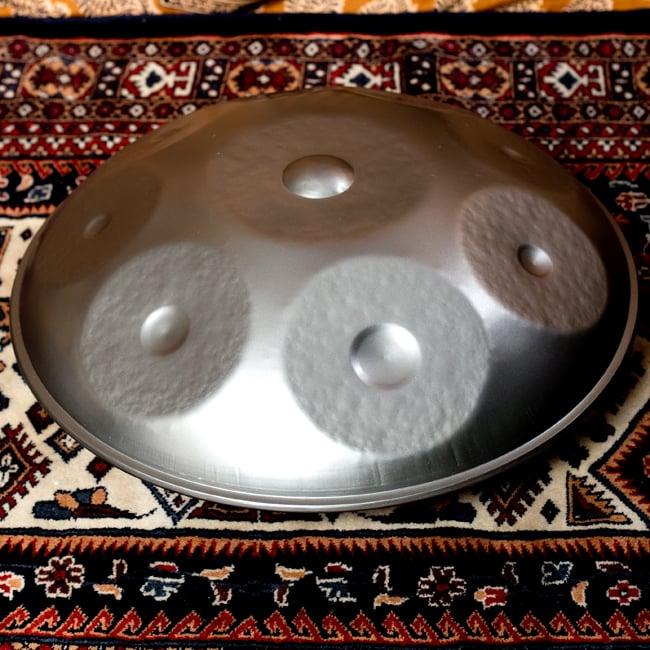 【送料無料】 ハンドパン Minor D【58cm 9notes】 ソフトケース付属 / ハングドラム スペースドラム スチールパン 打楽器 パーカッション 民族楽器 インド楽器 エスニック楽器 ヒーリング楽器
