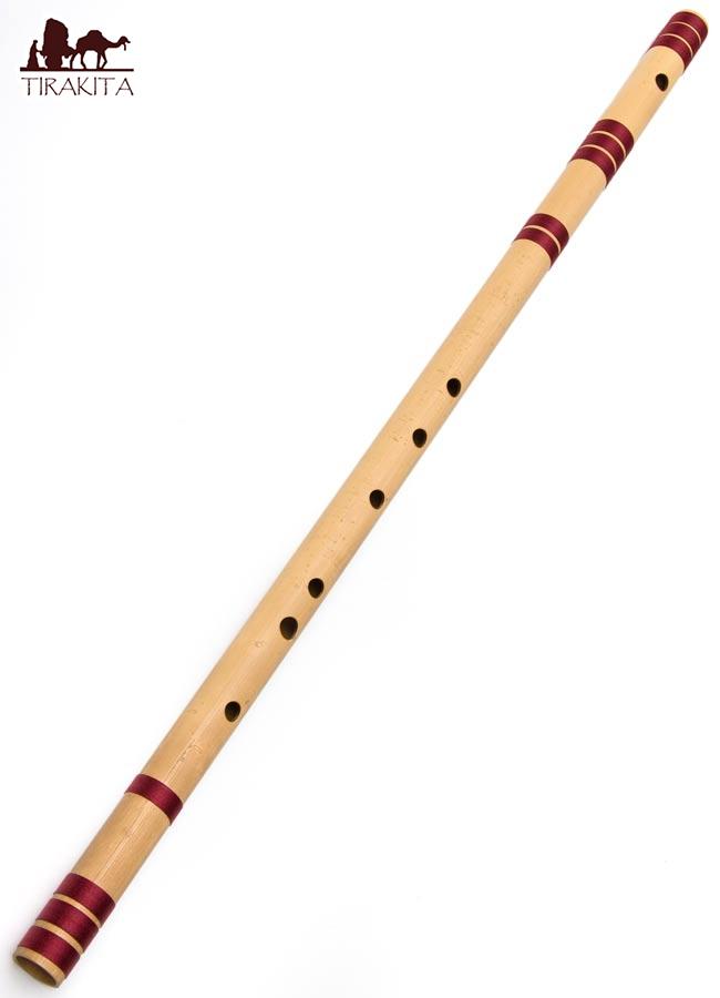 高品質コンサート用バンスリ(BASS D管) / Bansli インド 管楽器 送料無料 あす楽