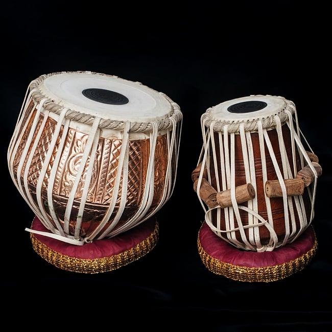 タブラ 銅 装飾付 / CD DVD 教則 打楽器 送料無料 レビューでタイカレープレゼント あす楽