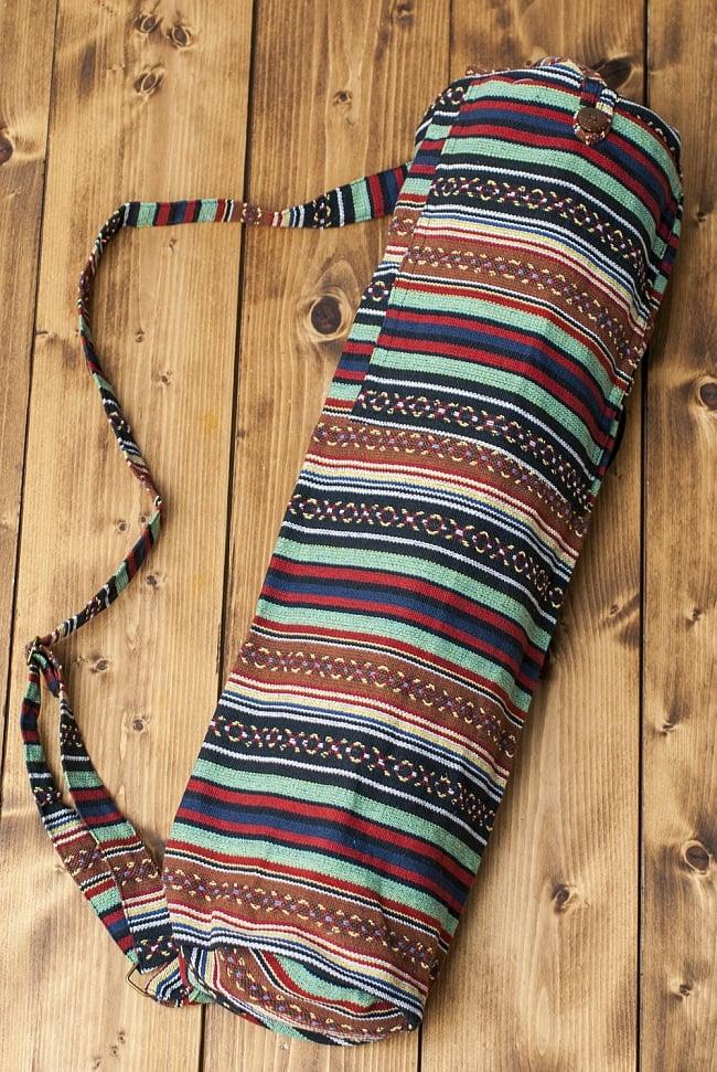 Funky Knit Yoga Mat Bag Pattern Photo - Decke Stricken Muster ...