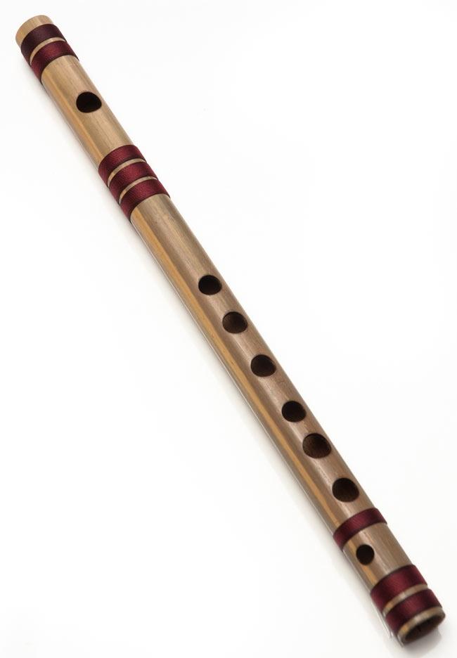 店内全品エントリーでポイント5倍 高品質コンサート用バンスリ(G#管) / Bansli インド 管楽器 送料無料 あす楽
