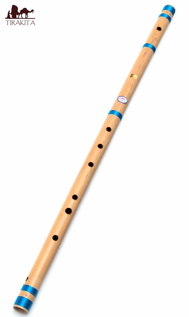 【送料無料】 バンスリ(BASS C管) / Bansli インド 管楽器 民族楽器 SH Flute Maker インド楽器 エスニック楽器 ヒーリング楽器