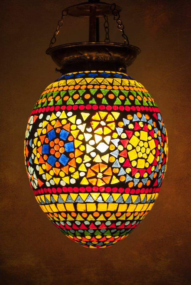 Tirakita rakuten global market hanging lamp ethnic india asian hanging lamp ethnic india asian grocery arabian light mosaic lamps asian lamp shade mozeypictures Image collections