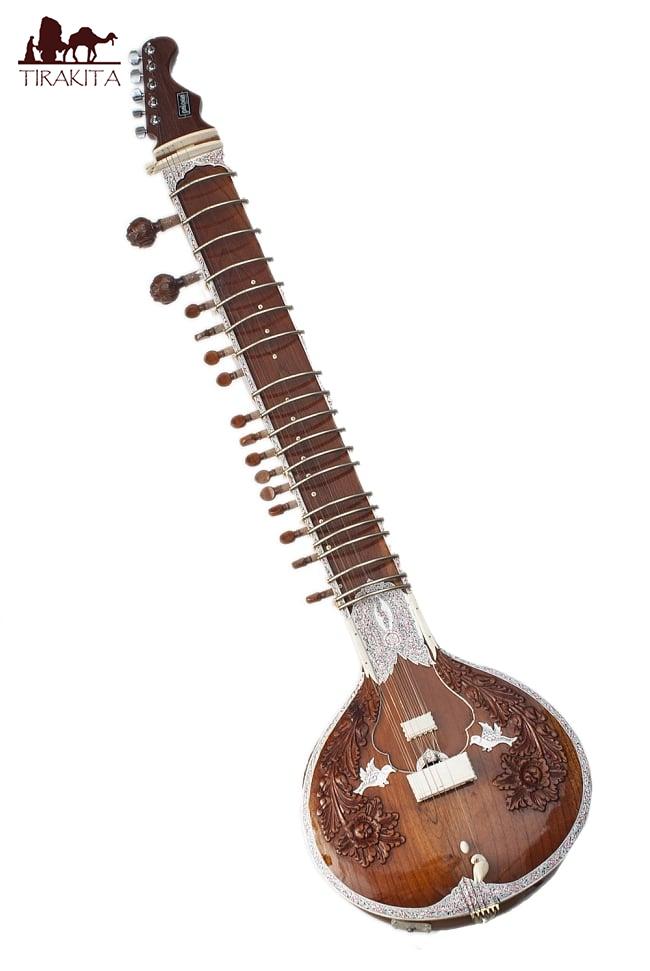 【PALOMA社製】エレクトリックスルバハールセット(グラスファイバーケース) / シタール エレクトリックシタール Sitar インド 楽器 送料無料 レビューでタイカレープレゼント あす楽