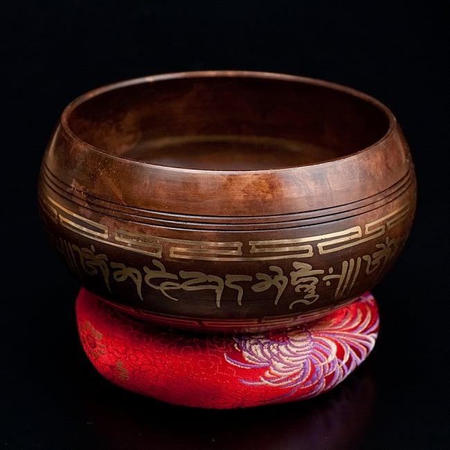 【一点物】チベタンシンギングボウル【音階 A#】 665g(スティック付属) / シンギングボール ネパール 楽器 送料無料 レビューでタイカレープレゼント あす楽