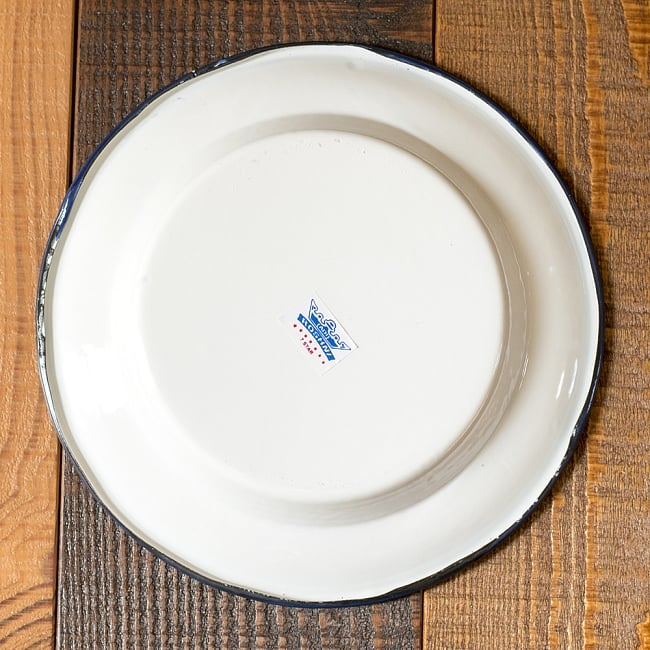 I present Thai curry in enamel soup plate 22cm / review of the India enamel antique-like & TIRAKITA | Rakuten Global Market: I present Thai curry in enamel ...