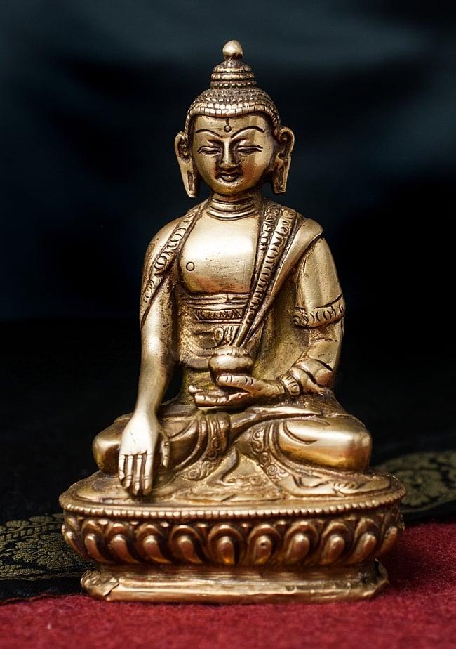 アクショービャ 阿しゅく如来 14.5cm / 仏陀 仏像 神様像 ブラス 送料無料 レビューでタイカレープレゼント あす楽