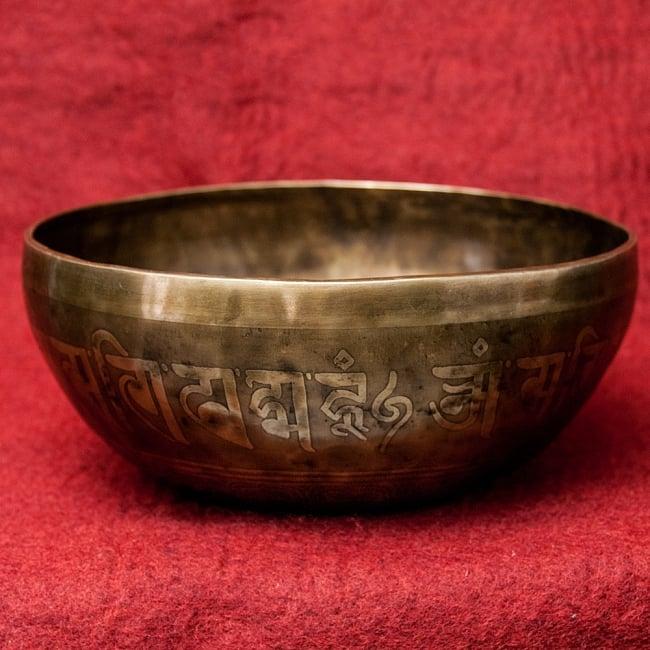 【一点物】チベタンアンティックシンギングボウル【音階 B】1833g(スティック付属) / アンティーク ネパール 楽器 送料無料 レビューでタイカレープレゼント あす楽