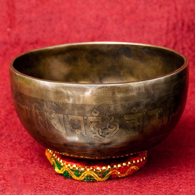 【一点物】チベタンアンティックシンギングボウル【音階 F】1032g(スティック付属) / アンティーク ネパール 楽器 送料無料 レビューでタイカレープレゼント あす楽