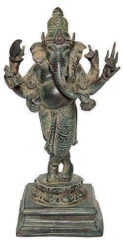 ガネーシャ(30.5cm) / ガネーシャ像 神様像 仏像 置物 送料無料 あす楽