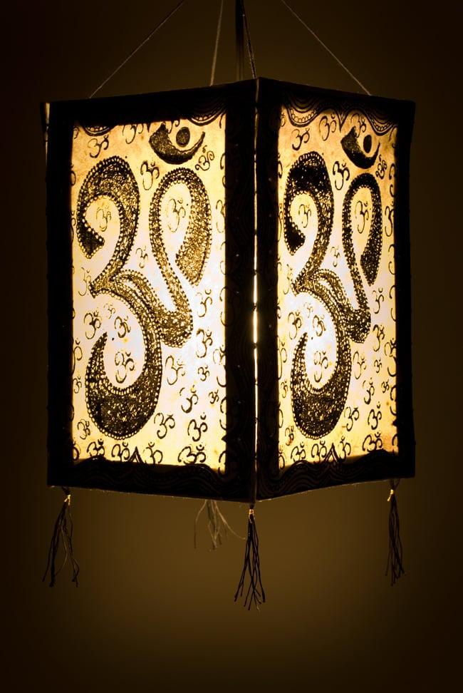 Tirakita rakuten global market lokta paper 4 side lamp shades lokta paper 4 side lamp shades on ethnic india asian goods hanging interior asian handmade paper mozeypictures Image collections