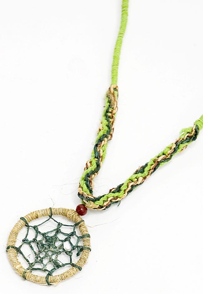 Tirakita rakuten global market dream catcher pendants necklace dream catcher pendants necklace hemp cotton ethnic asian india accessories anklet piercing ring bindis mozeypictures Images